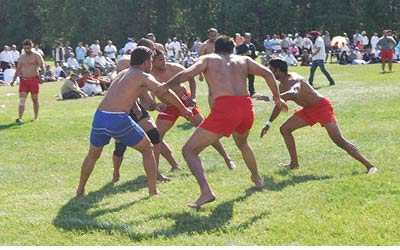 HOLD YOUR BREATH: KABADDI