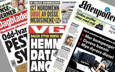 Norwegische Zeitung