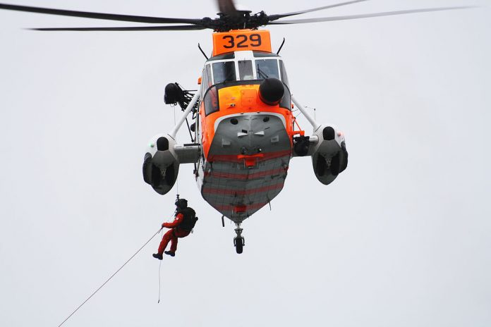 Rescue helicopter norway