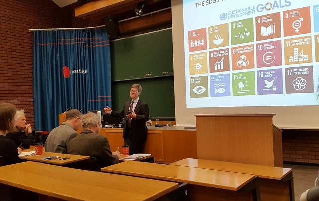Ban Ki-Moon�s Adviser: The World Needs Norway as a Role Model