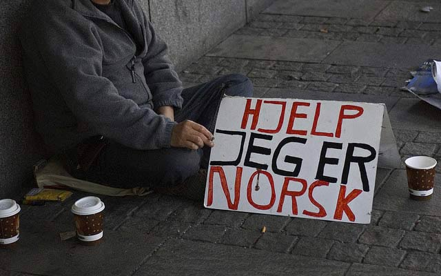 Norway Discusses to Ban Begging Again
