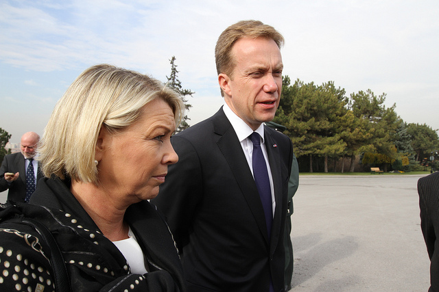 Norway Foreign Minister to Israel and Palestine