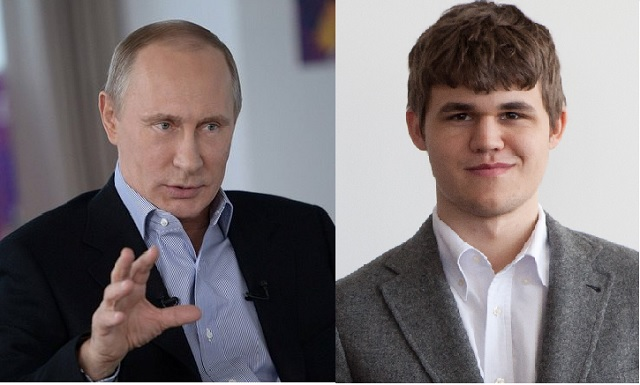 Putin to Go to Carlsen�s World Cup Match