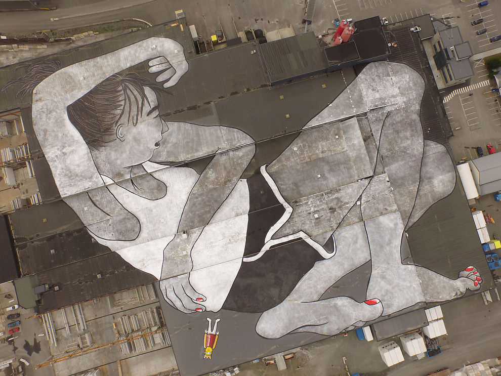 The World�s Largest Outdoor Mural in Norway