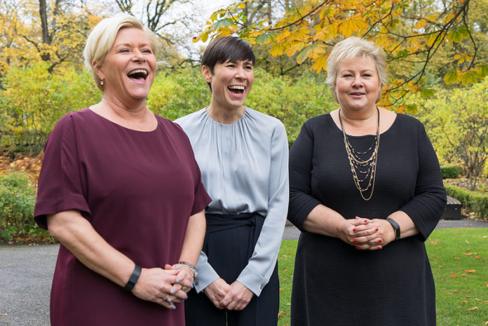 Norway's first woman foreign minister elected