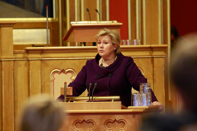 Norway Prime Minister Calls Norwegians not to Let Fear Take Them