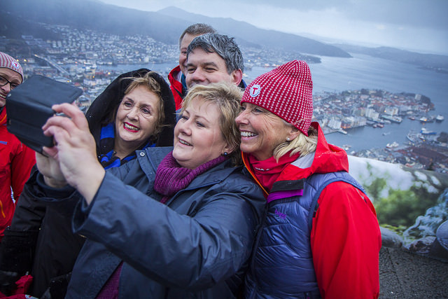 Norway Prime Minister Solberg is One of the Top World Leaders on Twitter