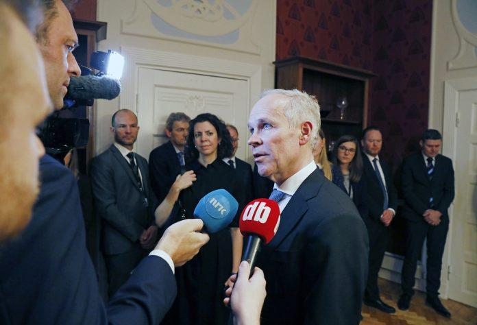 Finance Minister Jan Tore Sanner | Photo: Kenneth Hætta/Finansdepartementet
