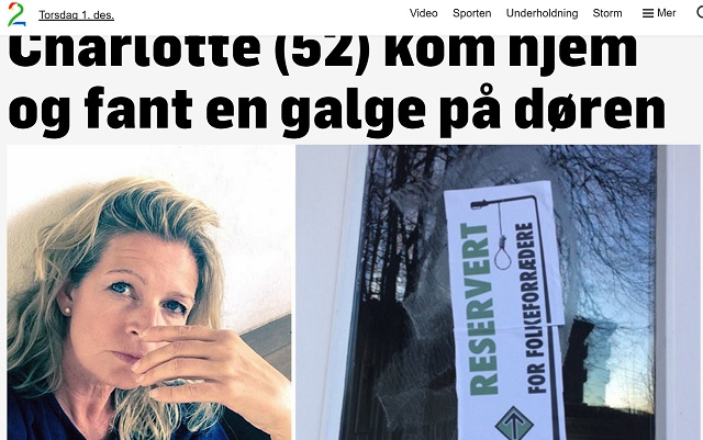 Right Wing Extremist Group Puts Stickers with Gallows on Doors in Norway  sc 1 st  The Nordic Page & Right Wing Extremist Group Puts Stickers with Gallows on Doors in ...