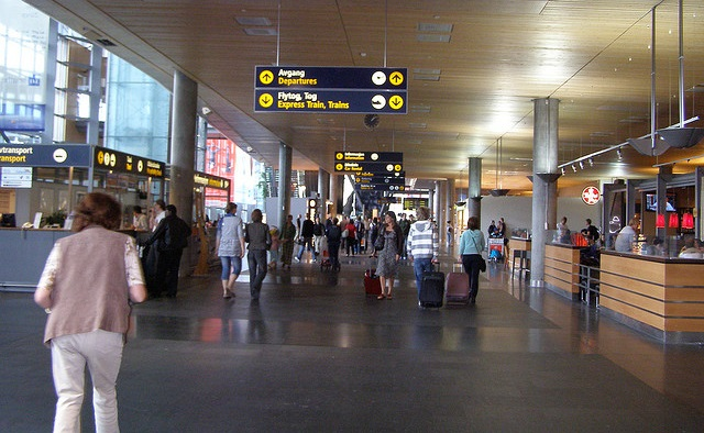 Delayed Penger Triggered Fire Alarm At Oslo Airport