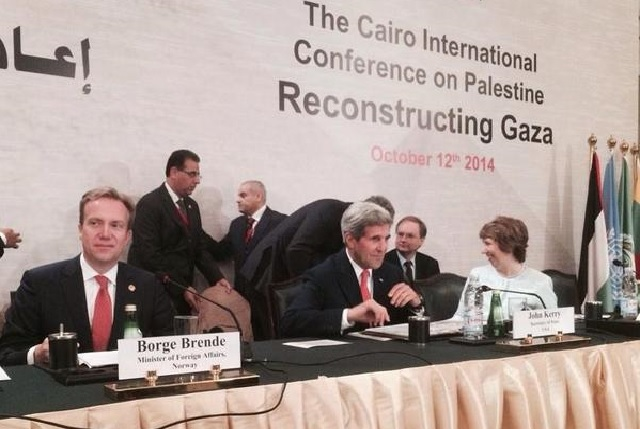 Norway and Egypt Leading Donor Conference for Gaza