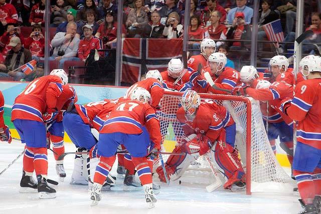 Eishockey Norwegen