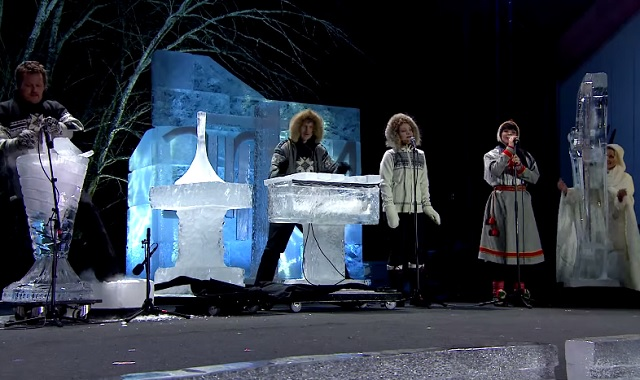 Norway Musicians Make Music Out of Ice