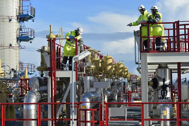 K�rst� gas leak stopped