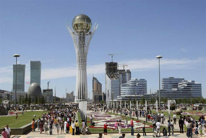 Kazakhstan celebrates the 25th Anniversary as an independent nation