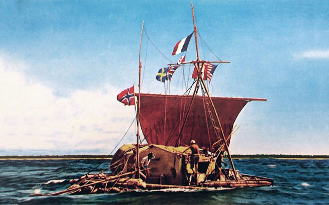 Second Kon-Tiki Expedition is Cancelled after Loosing the Course
