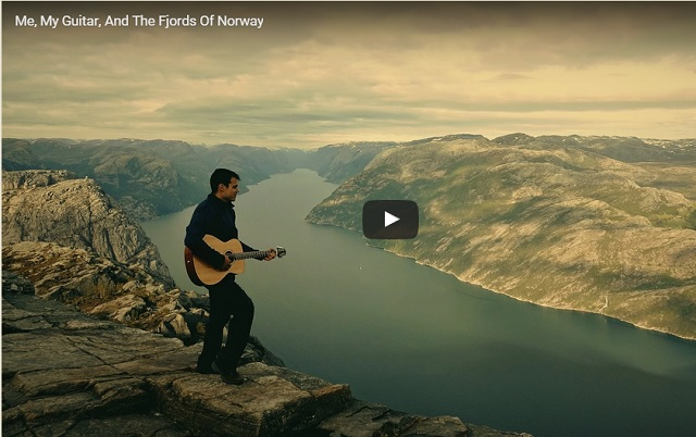 Me, My Guitar and The Fjords of Norway