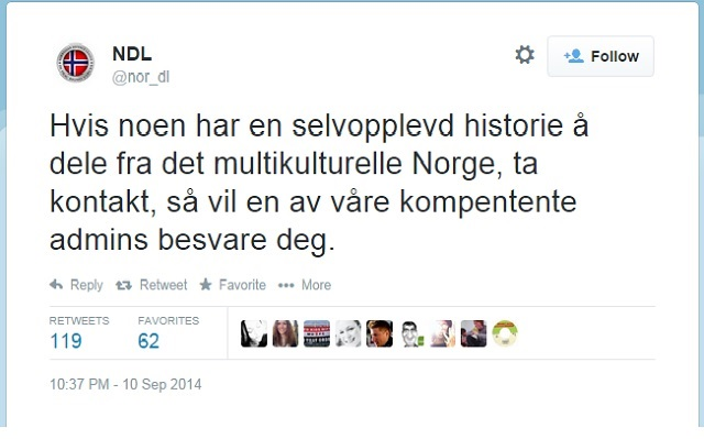 Anti-Immigration Twitter Campaign in Norway Backfires