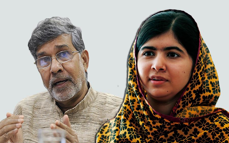 Nobel Peace Prize Winners 2014 Malala and Kailash Sat...