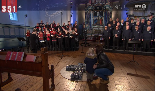Norway State Television Airs 60 Hours Long Live Hymn Performance from All Over the Country