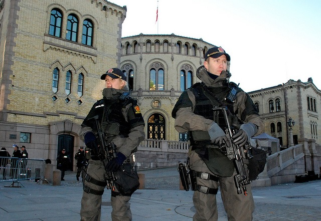 Norway May Intoruce Permanent Armament for Police after Paris Terror