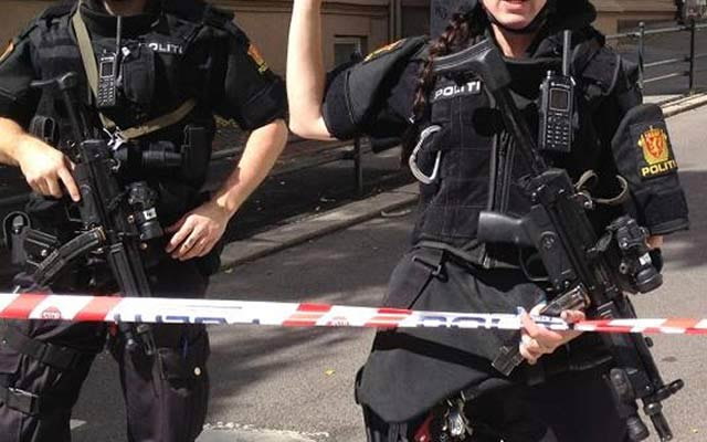 Norway Sharpens Weapon Carrying for Police