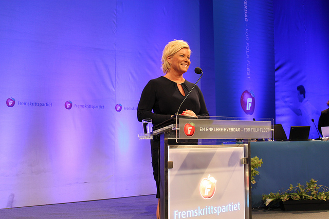 Norway Progress Party Leader Asks Municipalities to Say No to Syria Refugees