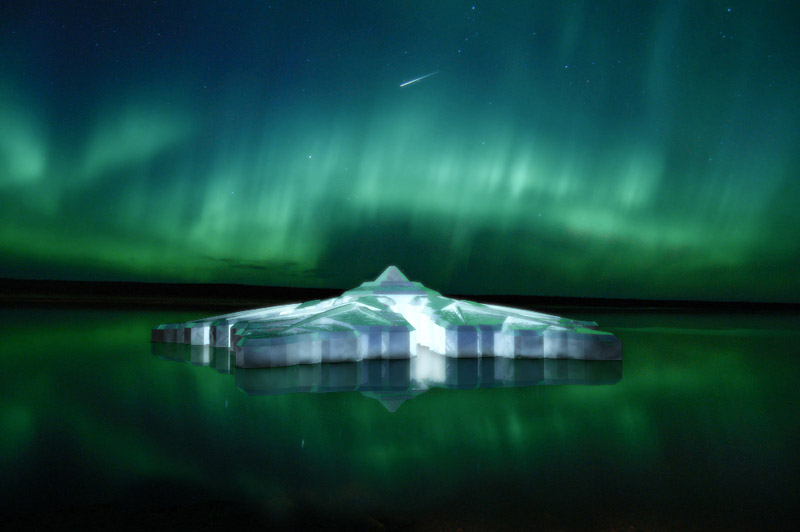 Norway to Be a Real Dreamland with World�s first Floating Snowflake Hotel