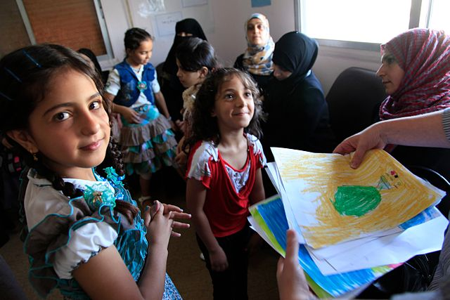 Norway launches an innovation competition to teach Syrian refugee children to read