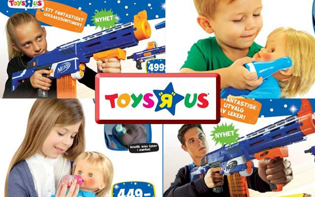 Toys For Boys Advertisement : Scandinavian toy manufacturer to give weapons girls