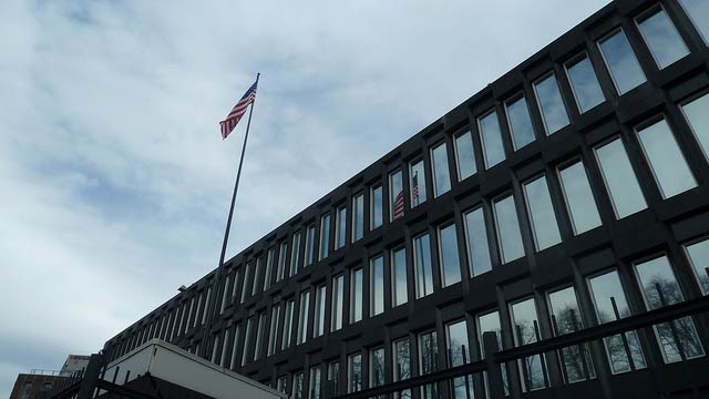 US Embassy in Oslo is Accused of Moonlighting