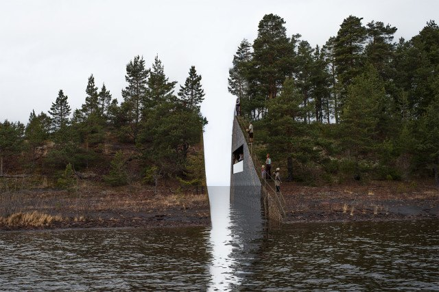 Norway�s July 22 Massacre Memorial Sites are Touching